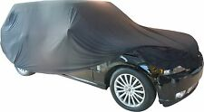 Super Soft Elasticated Indoor 4x4 Car Cover In Black-To fit Range Rover,Touareg