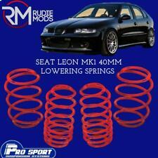 ProSport 40mm Lowering Springs for Seat Leon Mk1 Authorised Dealer 120626