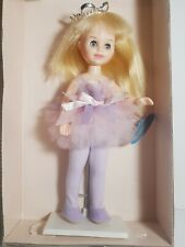 "VINTAGE 8.25"" HORSMAN MELISSA BALLERINA DOLL ON STAND 1987 OPEN BOX"