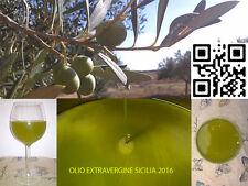 20 LITRI - Olio Extravergine d'Oliva di oliva SICILIA - Nocellara - 2016