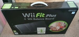 Nintendo Wii Fit Plus With Balance Board - Black
