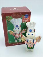 Pillsbury Dough Boy Ornament, Carlton Cards Heirloom 2002 Poppin' Fresh