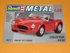 REVELL metallo 1:24 Collection 89/90 con 20 pagine