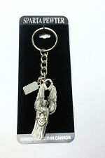 SPARTA Handcrafted Pewter Key Chain Washington National Cathedral
