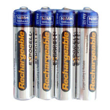 4 pc AAA NiMH Rechargeable Battery 1000 mAh 1.2V pre-charged NEW Shrink Pack