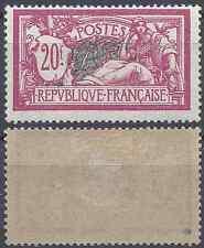 FRANCE TIMBRE TYPE MERSON N°208 NEUF * AVEC GOMME D'ORIGINE COTE 230€