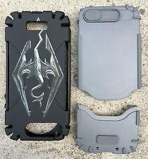 New Skyrim Logo Black Two Piece iPhone SE 5s Hardshell Case