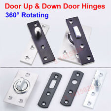 360° Rotating Door Stainless Steel Heavy Duty Pivot Hidden Up & Down Door Hinges