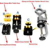 Mini Jaw Bench Clamp Drill Press Vice Opening Parallel Table Vise DIY Craft Tool