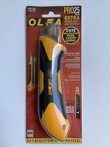 OLFA XH-AL Fiberglass Reinforced Auto Lock Utility Knife Pro 25mm Snap-Off Blade