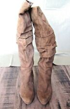 BANDOLINO Light Brown Suede  Boots  size 6 1/2