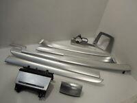 Audi A4 B7 RHD Aluminium Silver Set of Dash and Door Trims