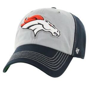 Denver Broncos NFL '47 CLEAN UP Cap Hat Adjustable Strapback Est. 1960 AFC West