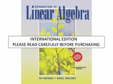 Introduction to Linear Algebra with Applications by Jim Defranza & Daniel Gaglia