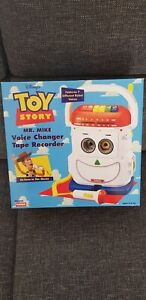 Playskool 1996 Vintage Toy Story Mr Mike Voice Change Tape Recorder Thinkway MIB