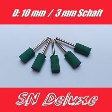 5 Stück Gummi Polier Punkte Polierer 10mm für Dremel, Proxxon Multitool Zubehör