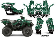 ATV Graphics Kit Quad Decal Wrap For Yamaha Grizzly 550/700 2015-2016 REAPER GRN