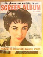 Screen Album Magazine August 1954 Marilyn Monroe Gina Lollobrigida Grace Kelly