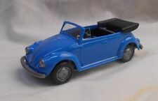 Wiking Germany 1:40 Volkswagen Beetle Convertible Kafer Cabriolet Blue