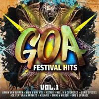 GOA FESTIVAL HITS VOL.1:ARMIN VAN BUUREN,OMIKI&WILDER,ASTRIX...  2 CD NEU