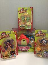Lanard Toys Fairykins Dolls And Dollhouse -- Complete Set of 4! NEW RARE