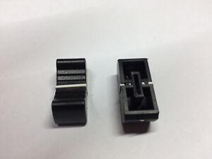 Slider Knobs - Fader Caps - Various Colours - Pack of 2 - Fits 8mm Slider Shaft