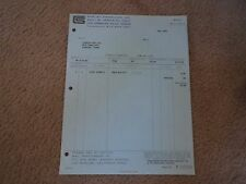 AUGUST 17 1966 SHELBY INVOICE TO LUBBOCK AUTO CO. LUBBOCK TEXAS