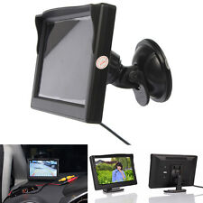 5inch TFT-LCD Car Rear View Rearview Monitor Stand Reverse Backup Camera Kit New
