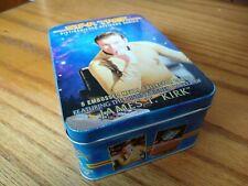 Star Trek Distinguished Officers Series James T. Kirk Metal Cards in Tin