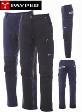 Pantaloni da Lavoro Payper Worker Tech Uomo Donna cotone con porta ginocchiere
