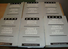 2006 Chrysler Town & Country Dodge Caravan Service Manual + Procedures 6 Books