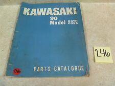 Kawasaki 90 G3TR G3SS G3 TR SS Used OEM Parts Catalog Manual #VP-MAN246