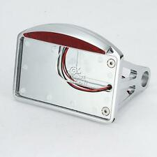 Side Mount License Plate Bracket Taillight For Harley Softail Sportster Dyna