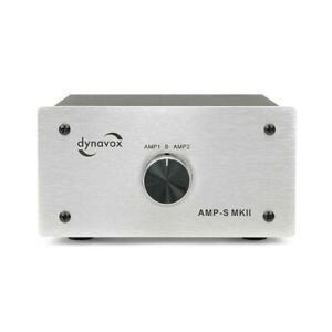 Dynavox AMP-S MKII Verstärker Boxen Umschalter Switch Special Edition silber OVP