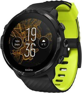 SUUNTO 7 Black Lime GPS Smartwatch With Versatile Sports Experience