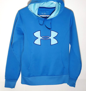 Under Armour Hoodie Jacket | Official Blue ColdGear Outerwear | Mens Small