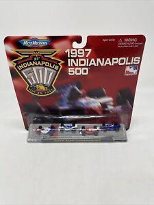 AA131 1997 Micro Machines 74972 Indianapolis 500 1997 Top Finishers