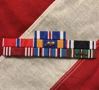 WW2 US Army Air Corps Flyimg Ribbon Bar Set Distiguished Flying Cross POW