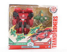 Hasbro Transformers Spielzeug Combiner Wars Robots Disguise Great Byte Sideswipe