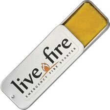 Live Fire Emergency Fire Starter LF01 3 1/8