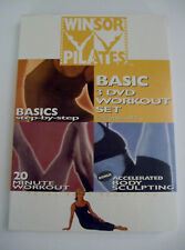 Winsor Pilates Basic 3 DVD Set Fitness Exercise Workout Mari Winsor New