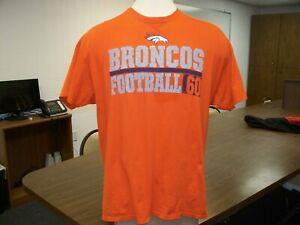 Denver Broncos NFL Majestic Adult XL Game Day Shirt