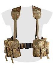 BTP Camo Webbing Belt Set PLCE Designed to Match MTP Multicam Military Army SAS