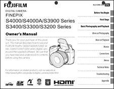 FujiFilm FinePix S3200 S3300 S3400 S3900 S4000A S4000 Digital Camera Manual