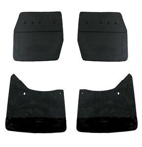 Volvo 240 244 245 1986 - 1993 MTC 2 Front & 2 Rear Mud Flap Kit MTC New