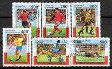 Guinea 1998 Mi. 1835-1840 Usato 100% Coppa del Mondo Francia