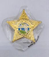 Sheriff's Department Polk County Junior Deputy Florida Gold Tone Mini Badge Pin