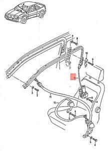 Genuine Volkswagen Electrical Restraint System Left NOS VW Corrado 535880701