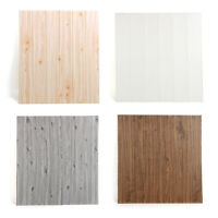 Waterproof Wood Thicken Self Adhesive Livingroom Graining Floor Sticker 70x70cm
