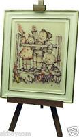Goebel M. J. Hummel Gallery * Aufwidersehen *350006 Lizenz. Porzellan Sammlung